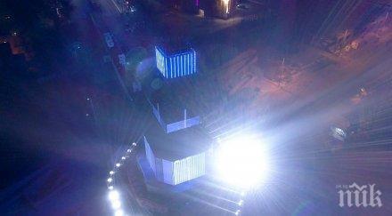 Хаос и носилки след края на пловдивския културен спектакъл