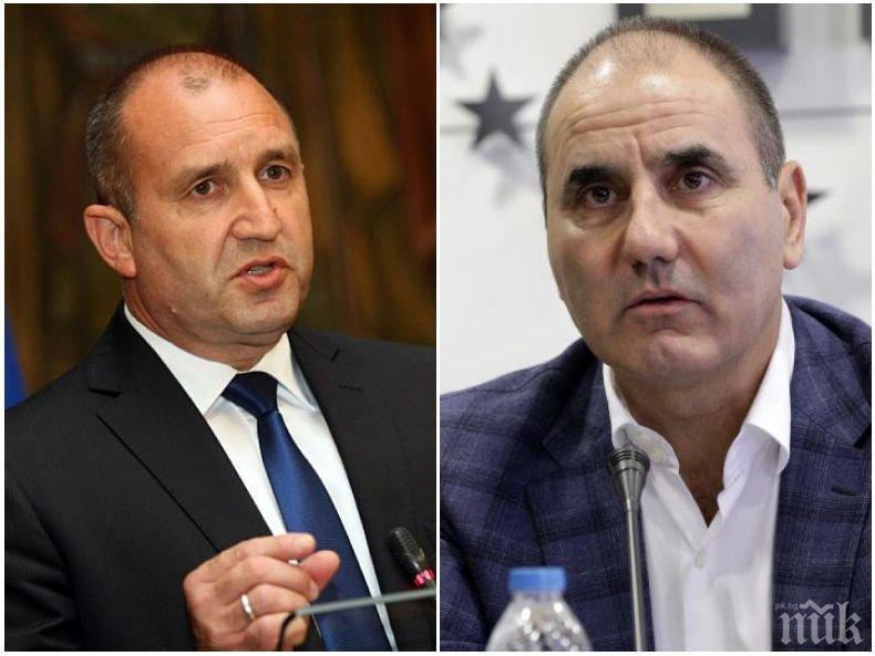 Цветан Цветанов направи на пух и прах Радев: Не е алтернатива да разделяш нацията и да всяваш омраза!