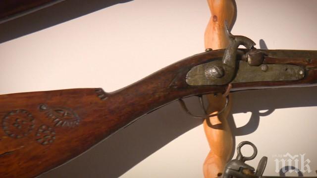 Пушката на Левски и още 300 оръжия в уникална колекция в апартамент в София