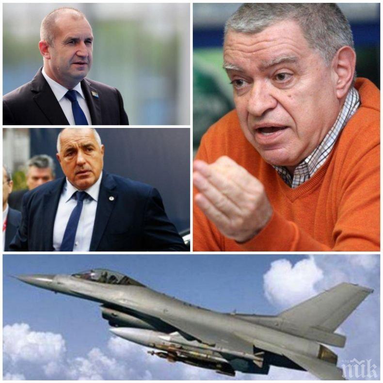 Михаил Константинов с експресен коментар пред ПИК: Радев не печели от скандала с изтребителите