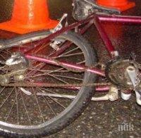 КУРИОЗ В МОНТАНА: Линейка блъсна циганин на колело - потърпевшият стана, изтупа се и потъна в мрака