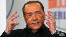 Берлускони напира за Европейския парламент