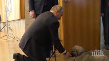 УНИКАЛНО ВИДЕО: Ето как реагира Владимир Путин на подаръка на Александър Вучич