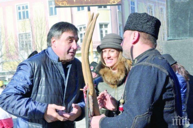 Веско Маринов на круиз с любовница