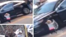 Трогателно: Двегодишно момиченце се предаде на полицията във Флорида с вдигнати ръце (ВИДЕО)