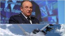 ГОРЕЩА ТЕМА: Бивш главнокомандващ на НАТО готов да ампутира крака си, само за да лети на българския Ф-16