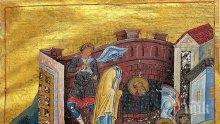 СИЛНА ВЯРА: Обезглавили свети Климент докато служи в църквата