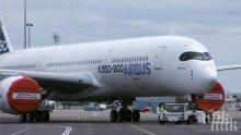 """МЕГА СДЕЛКА: """"Еърбъс"""" продава 65 самолета за 7,5 млрд. долара"""