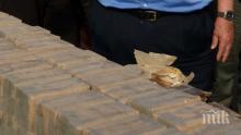 Турските власти хванаха 104 кила хероин в наш ТИР на границата