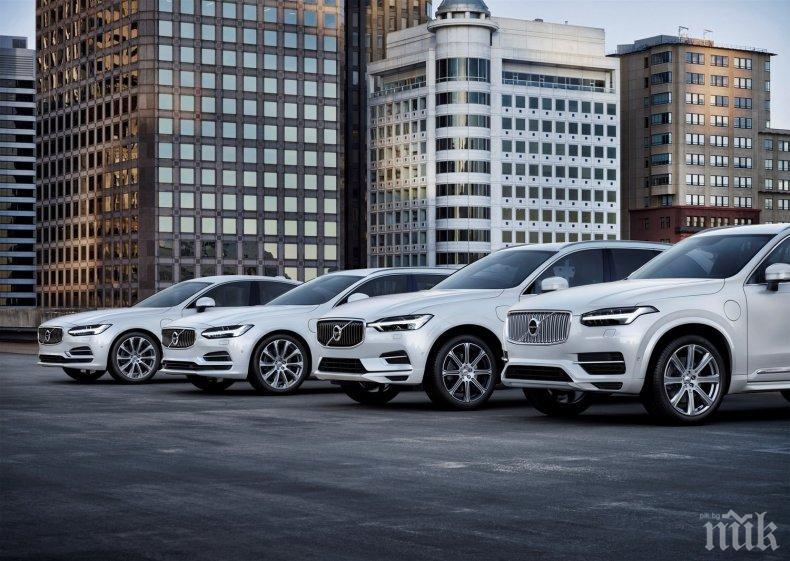 """Волво"" изтегля 219 000 коли заради пукнати горивни маркучи"