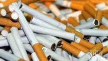 СПЕЦАКЦИЯ: 15 000 къса цигари и 5 килограма тютюн заловени в Пловдив