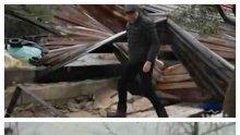Лошото време в Анталия взе две жертви, торнадо нанесе сериозни щети
