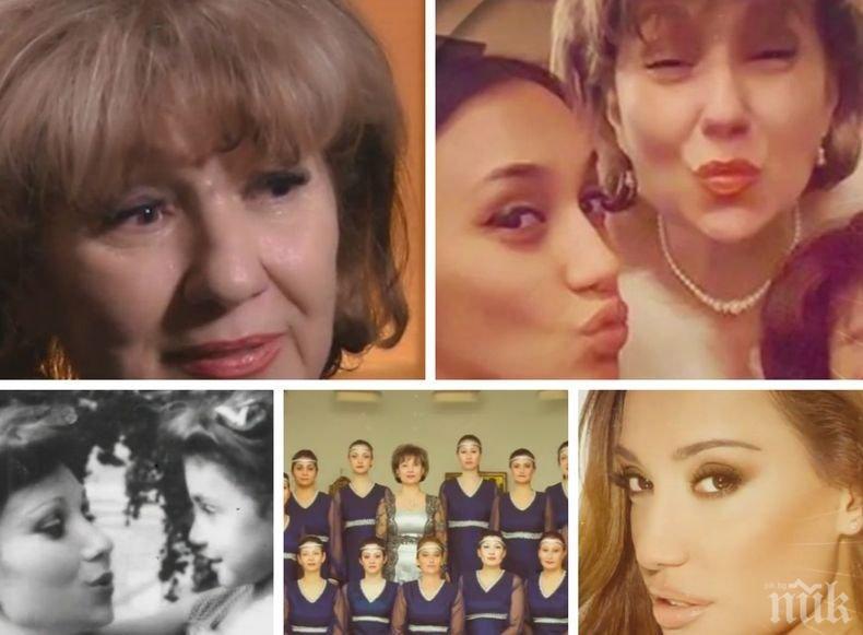 Майката на Мария Илиева проговори за детството на дъщеря си и внука си - ето как израснала певицата