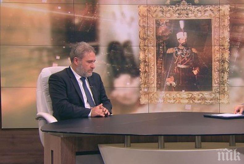 Боил Банов разкри как страната ни успя да закупи от търг във Виена портрета и вещите на княз Батенберг