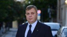 """Каракачанов подкрепя полицията за акцията в """"Столипиново"""""""