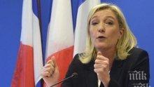 Марин Льо Пен счита, че ЕС се опитва да предизвика гражданска война в Ирландия