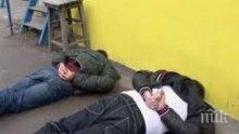 Акция посред бял ден до Руската гимназия в Бургас, двама са арестувани
