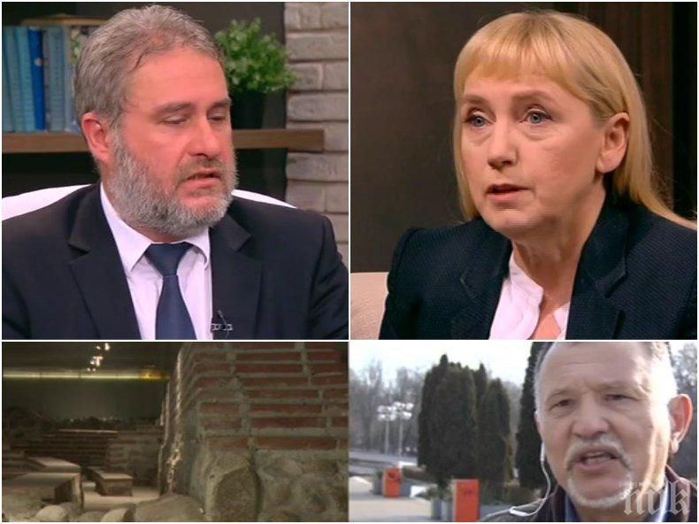 Елена Йончева направи пътека из телевизиите, за да лъска имидж преди евроизборите. Ето какво измисли с днешна дата
