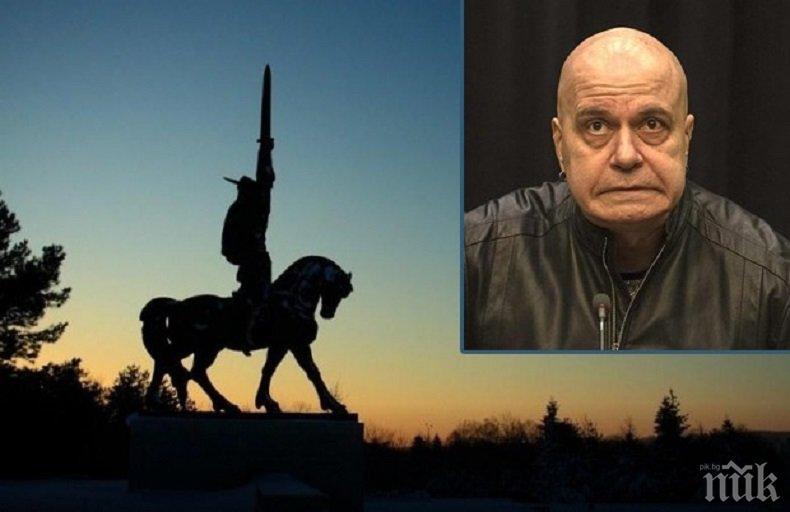 ПОЛИТИК ЩЯЛ ДА СТАВА: Добрич скочи на Слави Трифонов заради паметника Хан Аспарух