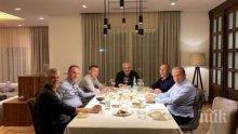 Хашим Тачи събра на вечеря в дома си политическото ръководство на Косово