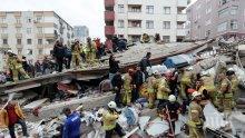 ТРАГЕДИЯТА В ИСТАНБУЛ: 10 са вече жертвите на срутилия се жилищен блок (ВИДЕО)