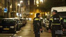 Полицаи застреляха мъж на уличка зад централната банка в Амстердам