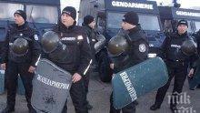 Успокоиха Войводиново, жандармерия респектира циганите