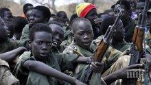 ООН алармира за десетките хиляди деца войници по света