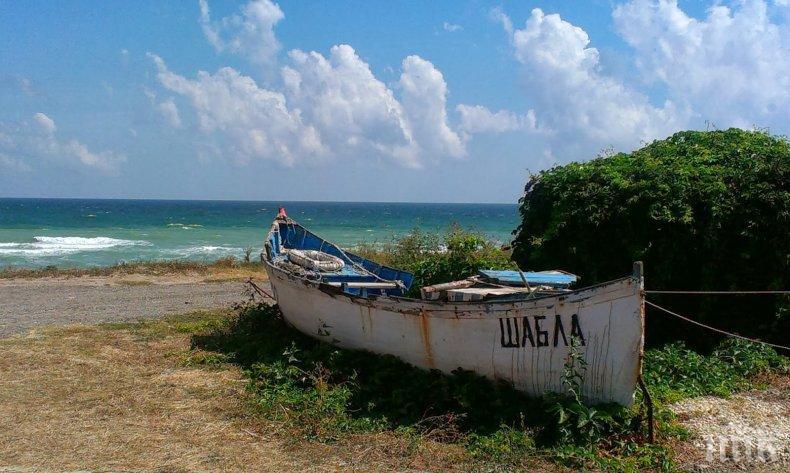 Изчистиха мазута от плажа край Шабла