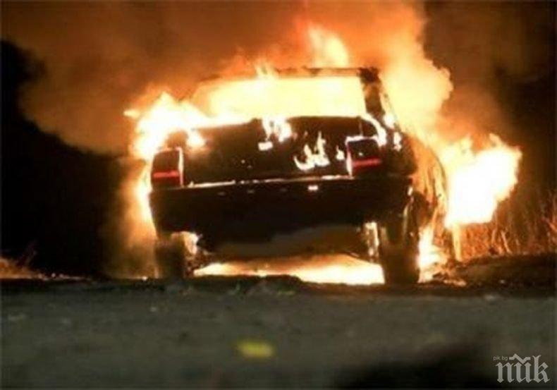 Kриминално проявен драсна клечката на кола в Айтос