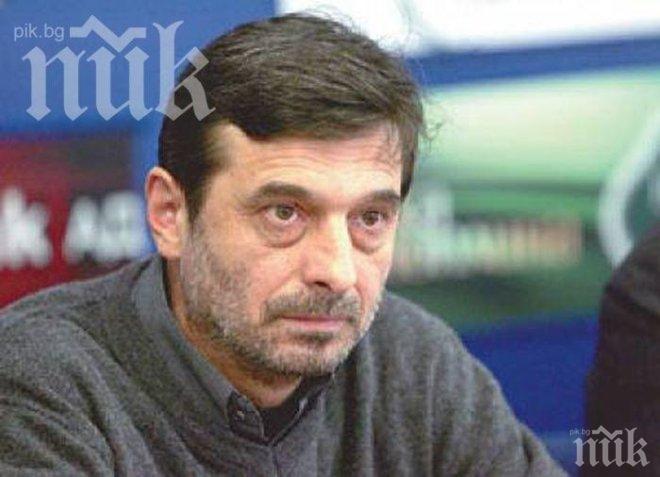 """Лидерът на """"Подкрепа"""" Димитър Манолов: Ако решим да издигаме кандидат за евродепутат, това няма да съм аз"""