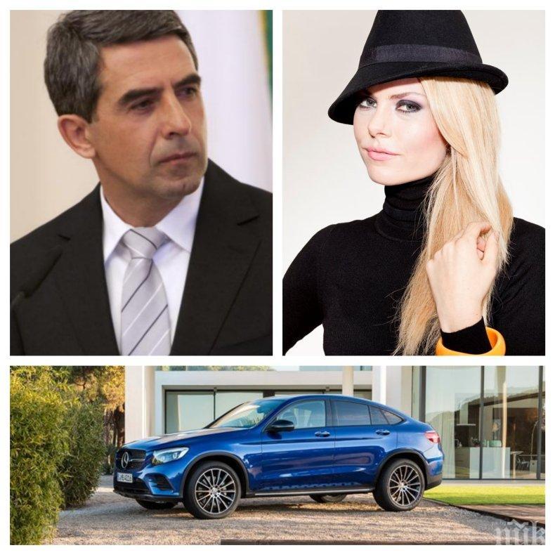 САМО В ПИК: Джипът, с който Деси Банова катастрофира, бил сватбеният й подарък от Росен Плевнелиев - луксозната кола за 150 бона е само на 8 месеца (СНИМКИ)