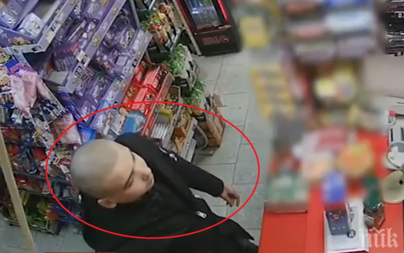 СПИПАХА ГО: Разкриха нагъл крадец, обирал месеци наред видинските магазини (ВИДЕО)