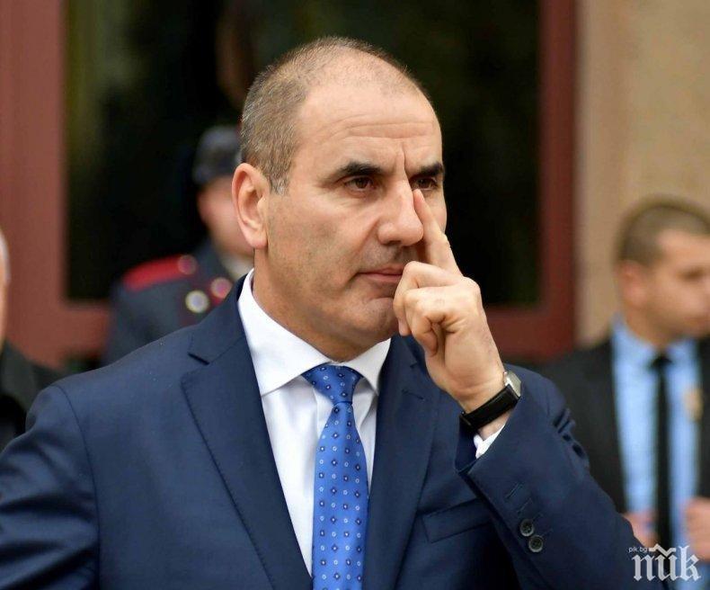 Цветан Цветанов отива в Шумен за среща със симпатизанти
