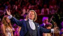 Андре Рийо обяви втори концерт в София