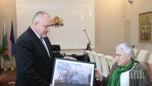 """ПЪРВО В ПИК: Борисов се срещна с архитекта, реставрирал желязната църква """"Св. Стефан"""" в Истанбул (СНИМКИ)"""