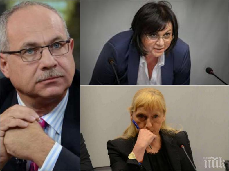 ПЪРВО В ПИК: Социалисти ли са Нинова и Йончева или цоциалисти - Антон Тодоров разкри милионите на върхушката в БСП
