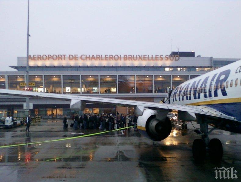 Белгия затваря въздушното си пространство за 24 часа