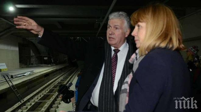 Пускат 5 нови станции на метрото до октомври