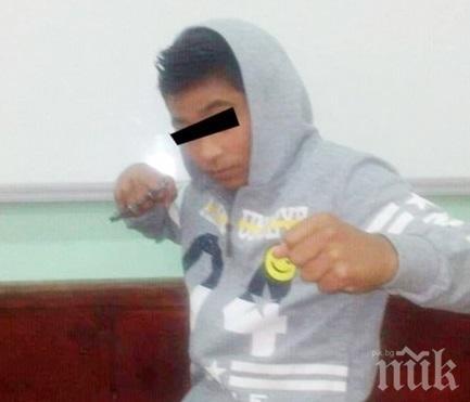 ВИЖТЕ ГО: Мургавият апаш Муки обира и тормози хлапета в Плевен