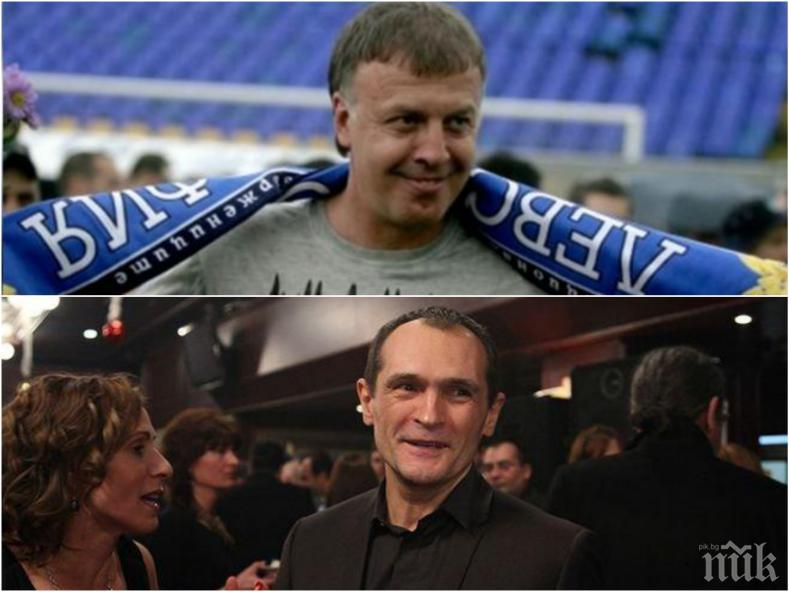 САМО В ПИК: Легендата на Левски Наско Сираков с първи думи след идването на Васил Божков