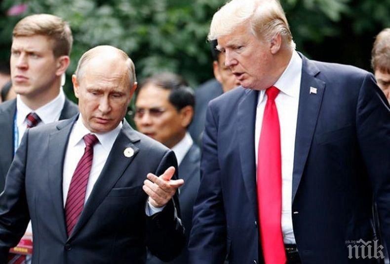 Допитване: Германците вярват на Путин три пъти повече отколкото на Тръмп