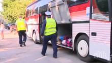 Пътна полиция затяга контрола за камиони и автобуси