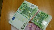 Гранична полиция и митничари задържаха 30 000 недекларирани евро