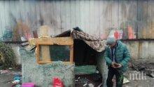 В Бургас разбутаха незаконен цигански катун