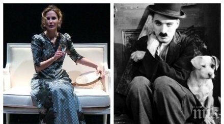 САМО В ПИК TV: Испанската актриса Мария Пастор пред медията ни - как театър в Мадрид поставя пиеса заради българина Ганчо, изровил ковчега на Чаплин