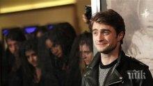 Даниъл Радклиф се отдавал на пиянства между снимачните дни на Хари Потър