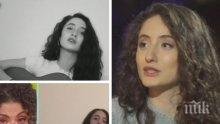 НОВА ЗВЕЗДА: Дъщерята на Саня Армутлиева проговори за музиката, живота си в Берлин и лесно ли е да имаш известна майка
