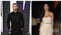 """САМО В ПИК: Гришо и Никол са разделени! Българинът блесна в черно със златни аксесоари на """"Оскарите"""", Шерцингер си разходи бюста на съседно парти (СНИМКИ)"""