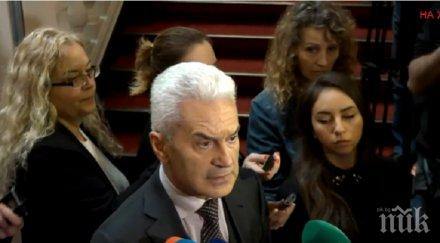"""ИЗВЪНРЕДНО В ПИК TV: Сидеров изненадан, че му искали оставката като шеф на """"Обединени патриоти"""""""